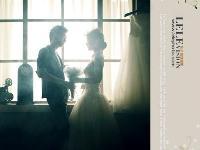 唯美的室内婚纱