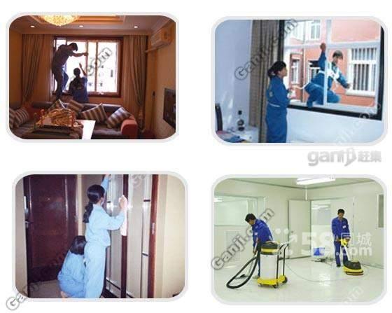 上海闵行梅陇保洁公司 别墅 办公楼装潢后专业保洁
