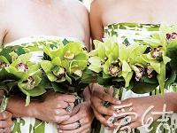 春季婚礼绿色手捧花正当时