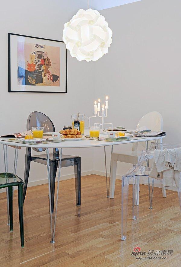 瑞典现代小户型公寓室内设计