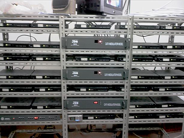 针对有上百台电视的酒店提供机顶盒前端改造共享方案