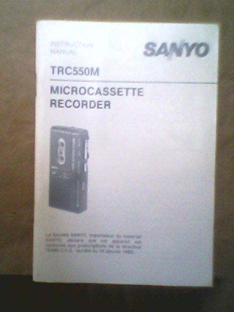 微型錄音機