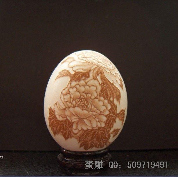 蛋雕艺术礼品(订做图案)