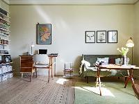 森林系单身公寓 40平米小空间大乐趣