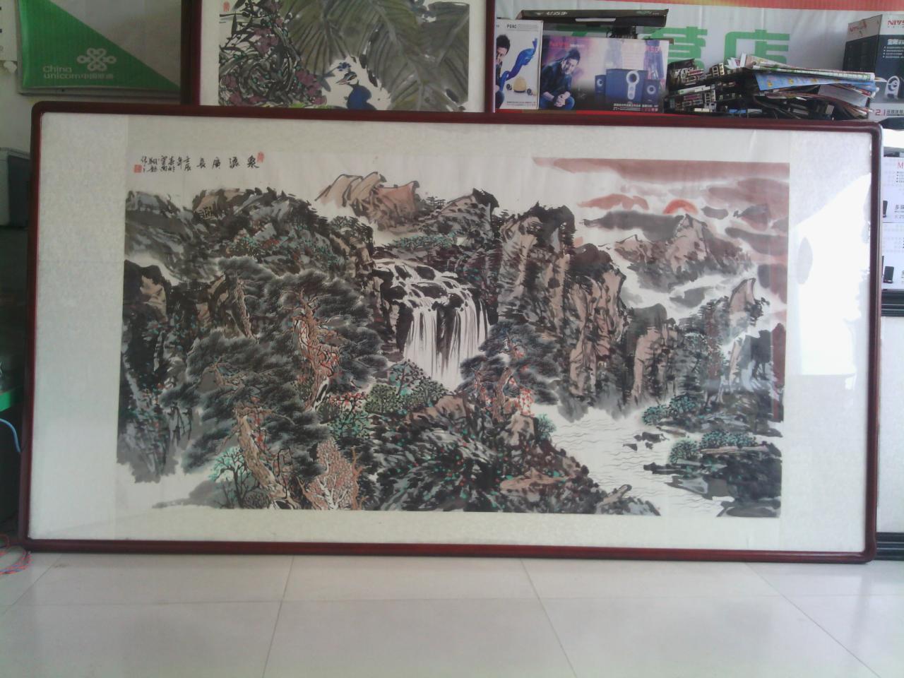 大量供应销售中国画,版画,书法作品