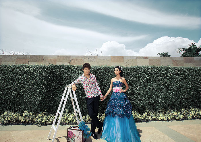金贵夫人户外婚纱摄影