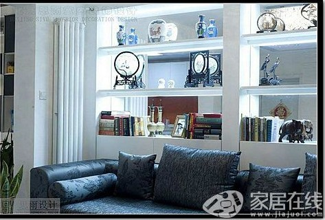 北京二手房装修设计之黑白生活