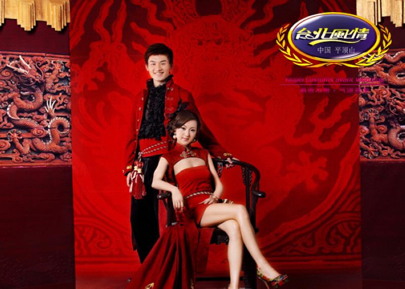 中国新娘-台北风情婚纱摄影