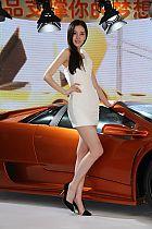 2012北京车展模特高清图
