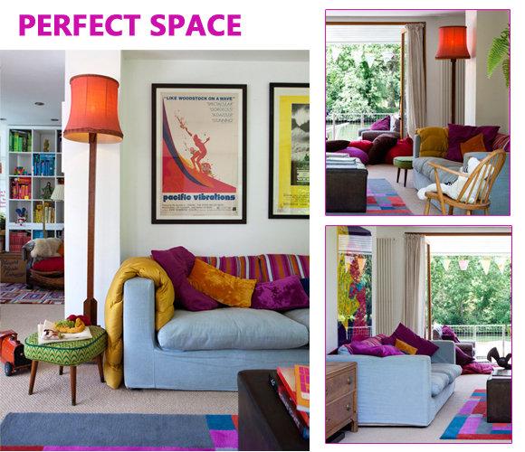 色彩控的最爱 15套完美绚丽客厅搭配方案