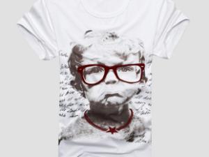 夏装新款圆领青少年男装短袖T恤编辑 |