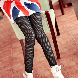 2012夏季潮女必备款百搭网格塑身显瘦打底裤