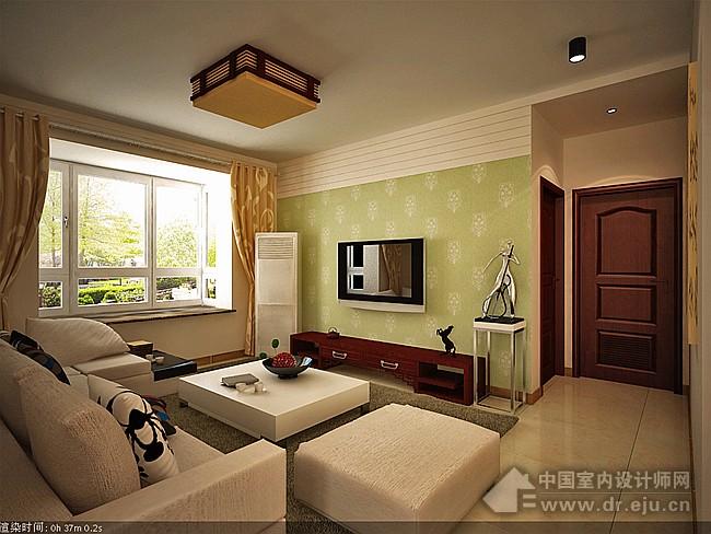 旭景 120㎡ 简中式-客厅