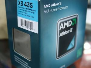 AMD X3 435 三核原装盒包CPU