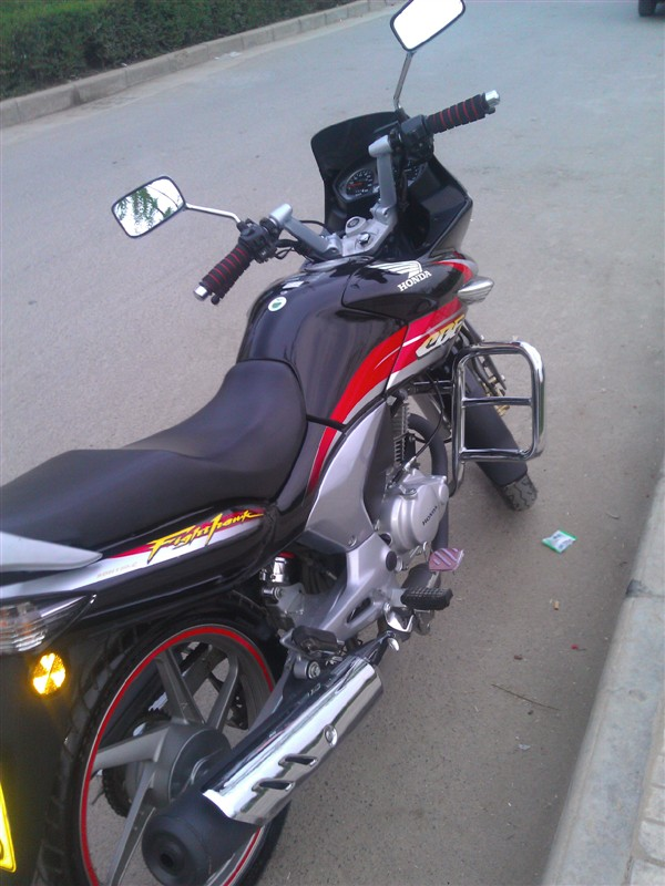 出售本田战鹰豪华版cbf150-c摩托车.-阎良之窗分类