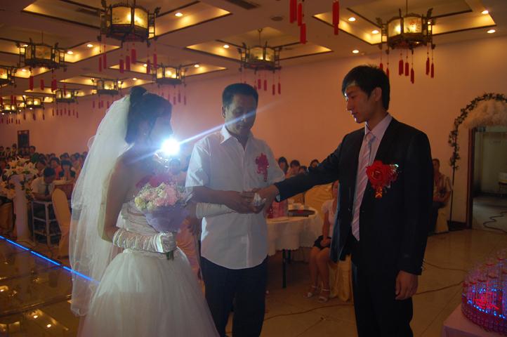 主题婚礼《飘向海》仪式