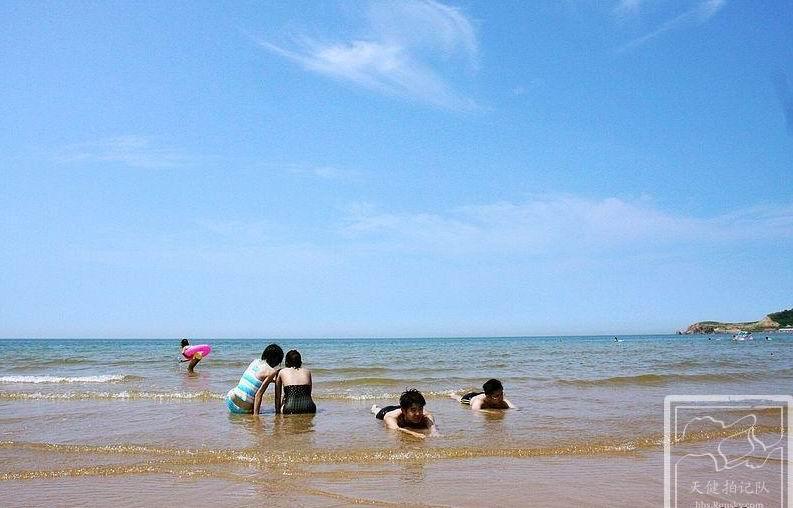 夏天到大连西中岛的海边与大海零距离接触,住在渔家体验渔家风情,有