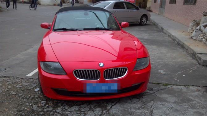 出售06年宝马Z4 3.0跑车