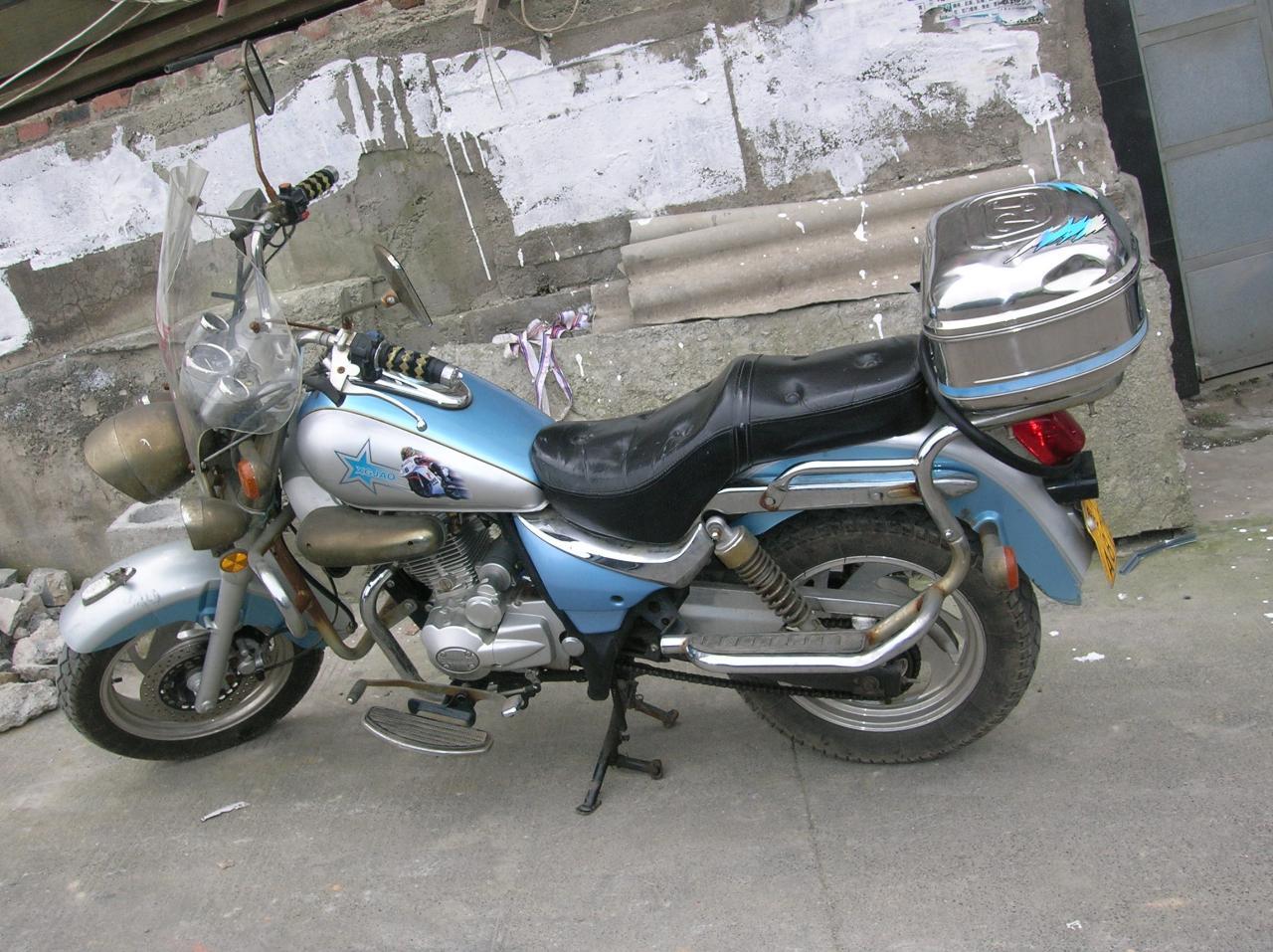 闲置太子风火轮牌摩托车超低价出售