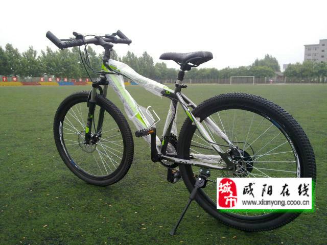 陕西工院的 因急用钱,转让全新山地自行车