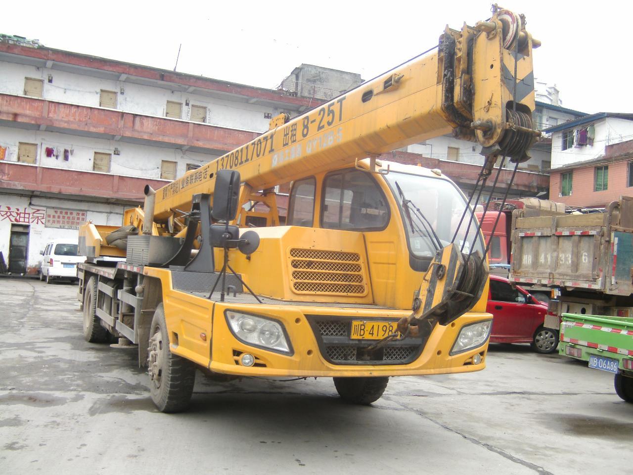 吊车出售:锦州8吨、长江12吨、徐工12\16吨