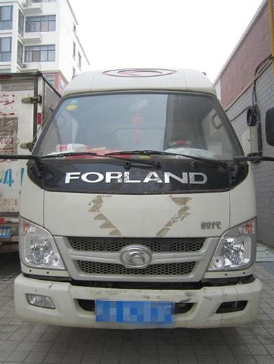 出售二手福田 时代厢式货车一辆