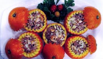 酿鲜橙盅的做法
