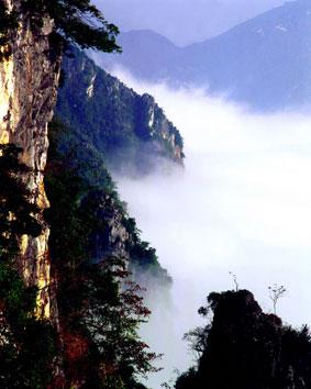"""1005云海�n茫""""云湖山"""""""