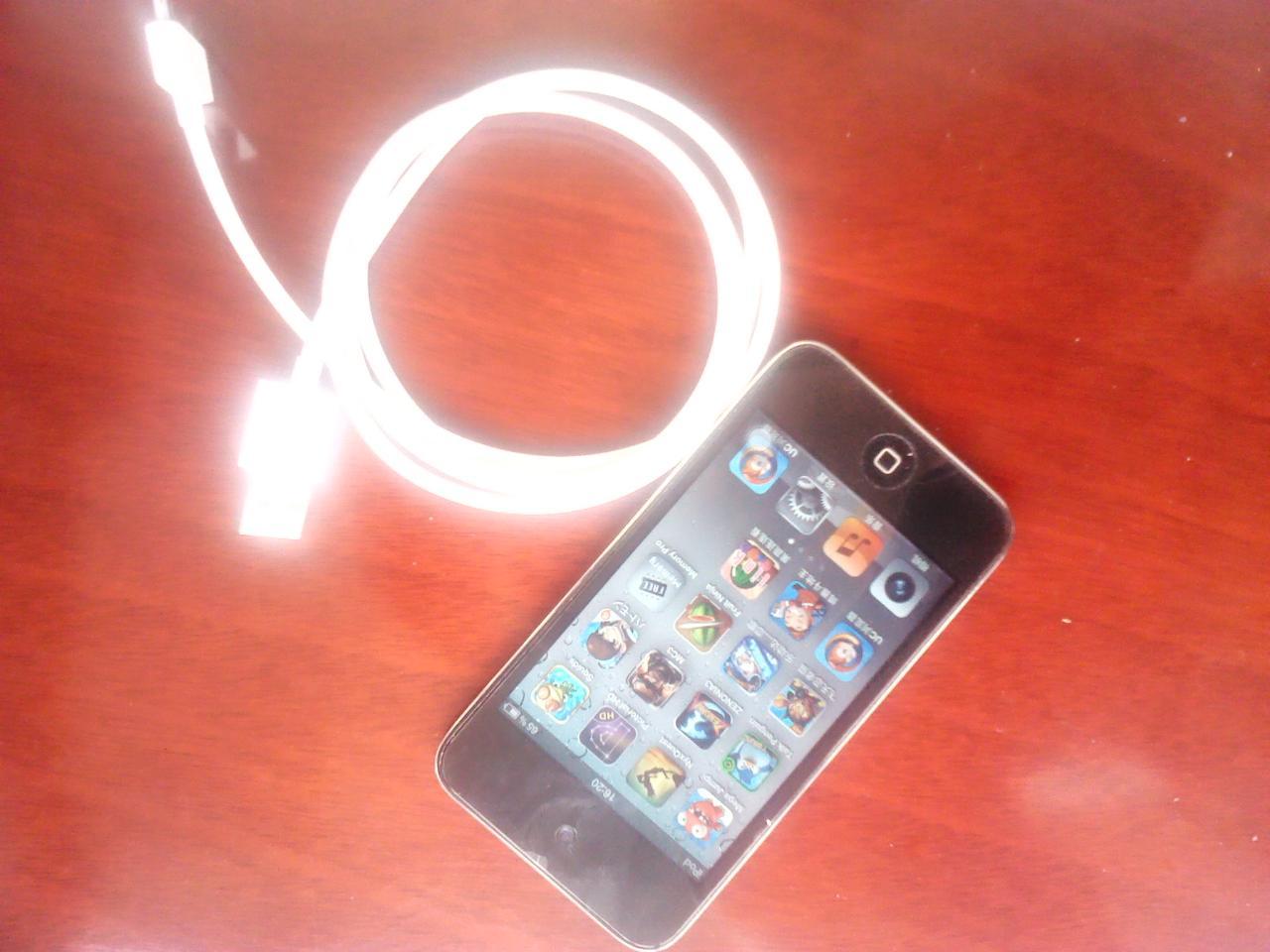 自用ipod touch4 8G 国行在保
